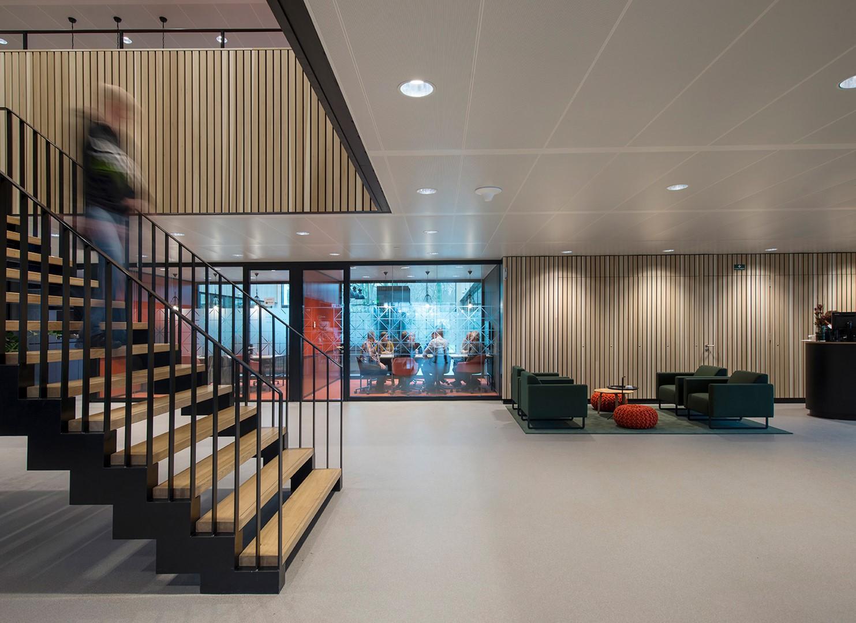 Enexis zwolle de twee snoeken architectuur & interieur